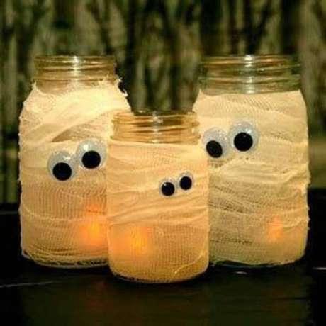 2. Ideia fácil e barata para decoração de Halloween – Foto: Welke