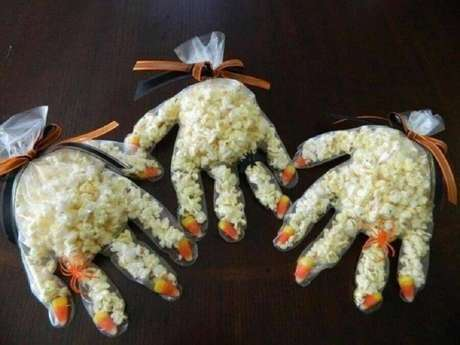 15. Ideia simples, fácil e barata de lembrancinhas de Halloween – Foto: Pinterest