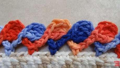 1. O bico de crochê é um detalhe extra que dá mais charme às peças. Foto de Big Tudo Artesanato