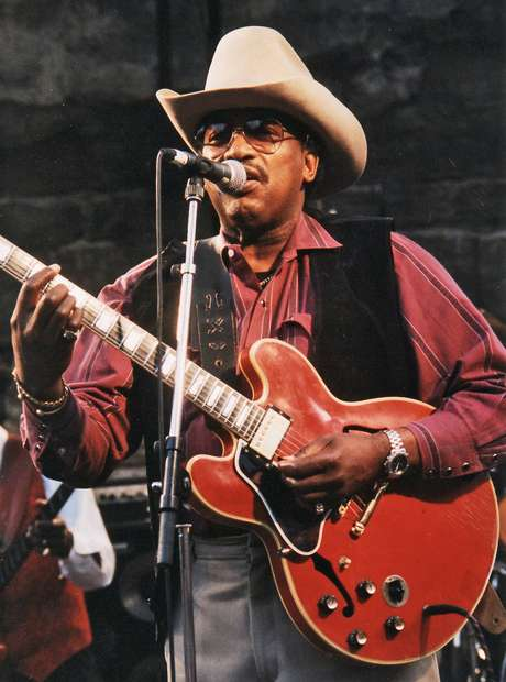 A lenda do blues Otis Rush