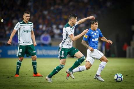Último confronto: Cruzeiro 1 x 1 Palmeiras (26/9/2018) - Copa do Brasil; veja nas próximas fotos os jogos mais recentes dos times