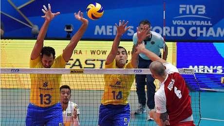 Polônia bate o Brasil por 3 a 0 e fatura Mundial de Vôlei Masculino