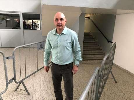 Maurício Galiotte vai reclamar na CBF contra o árbitro deste domingo (Foto: Thiago Ferri)