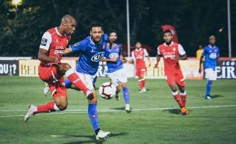 Eduardo Wilson tem quatro gols no Campeonato Português (Foto: Reprodução / Twitter)