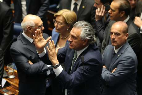 O senador do DEM Ronaldo Caiado, que deverá se tornar o próximo governador de Goiás