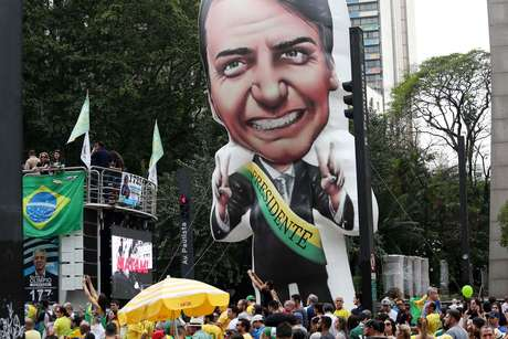 Candidato à Presidência não compareceu ao ato na Avenida Paulista