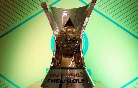 Taça do Campeonato Brasileiro que será entregue em dezembro