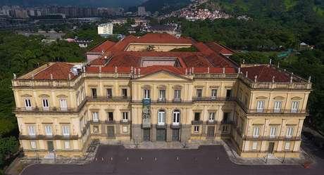 O Museu Nacional antes do incêndio