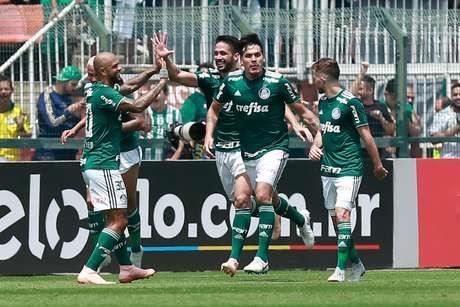 Palmeiras lidera 2º turno do Brasileirão