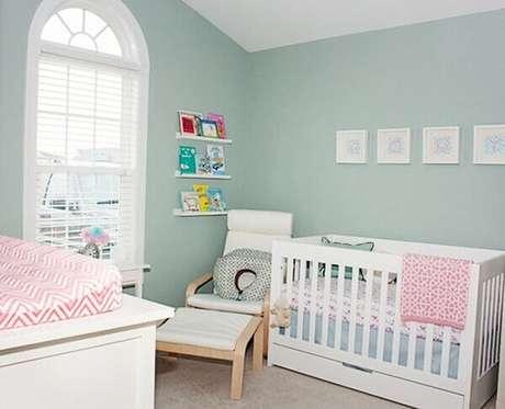 10- A decoração de quarto de bebê masculino tem estilo clássico. Fonte: Mundo Laza Fornaza