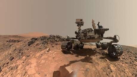 Robô Curiosity aterrissou em Marte em 2012 e é popular no Instagram