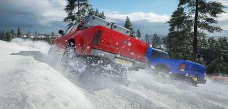 O novo sistema de estações dinâmicas em Forza Horizon 4 deixam as pistas da Grã-Bretanha sempre com novidades para os jogadores