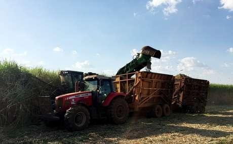 Colheita de cana-de-açúcar em Bebedouro, no Brasil 01/05/2018 REUTERS/Marcelo Teixeira