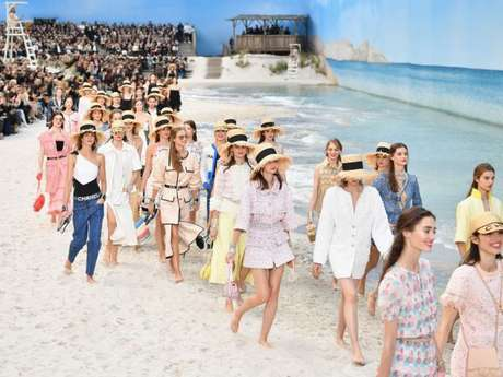 Desfile da Chanel na Semana de Moda de Paris, que vai até 3 de outubro de 2018