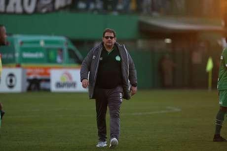Guto Ferreira tem apenas duas vitórias sob o comando da Chapecoense (Foto: Sirli Freitas/Chapecoense)