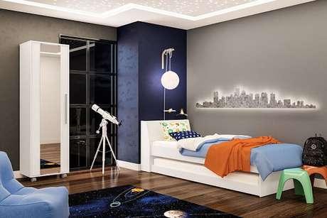 3- A Decoração de quarto precisa seguir o estilo e a personalidade do jovem. Imagem:Politorno