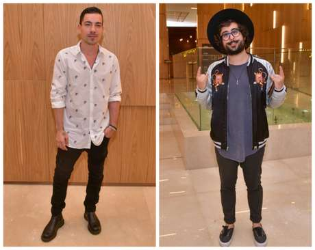Di Ferrero e Zeeba (Fotos: Leo Franco/AgNews)