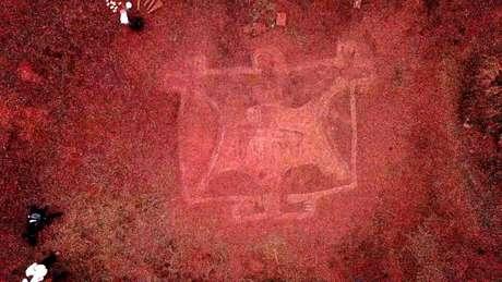 Cientistas acreditam que imagens foram feitas em torno de 10.000 a.C.