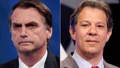 Bolsonaro e Haddad têm, juntos, apenas a metade das intenções de votos dos brasileiros