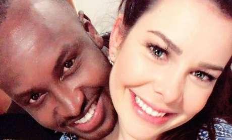 O cantor Thiaguinho e a atriz Fernanda Souza