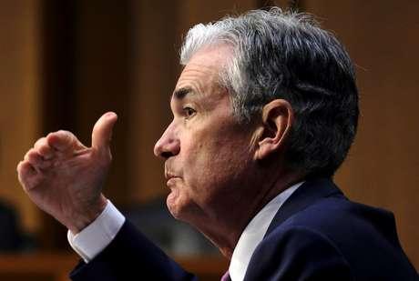 Chairman do Fed, Jerome Powell  17/7/2018 REUTERS/James Lawler Duggan