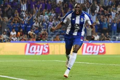 Marega marcou o único gol da vitória do Porto sobre o Galatasaray (Foto: AFP)