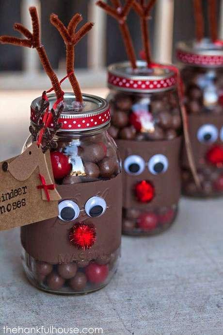 9- Ideia de lembrancinha de natal com chocolate