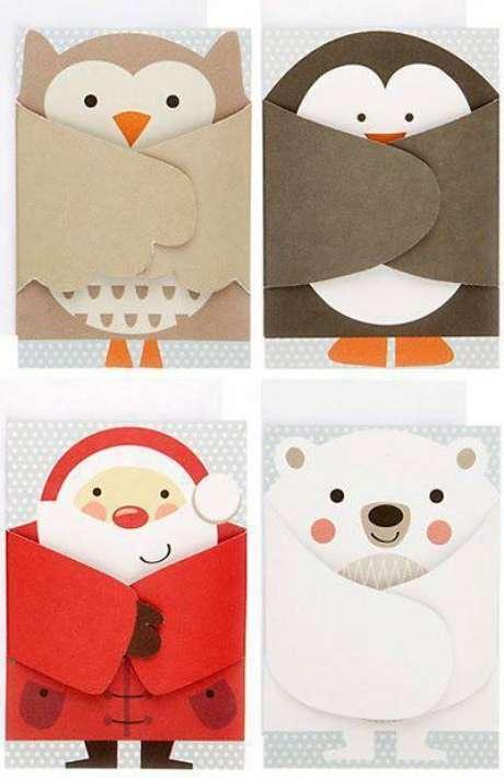 28- Modelos de cartões de natal