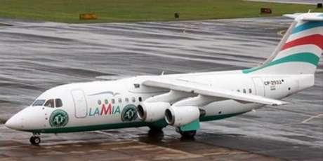 Aeronave - Imagens do avião que transportava a Chapecoense antes do acidente que teve 71vítimas fatais.