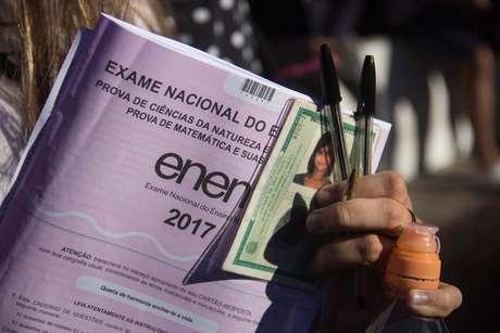 Exame Nacional do Ensino Médio ocorre nos dias 4 e 11 de novembro