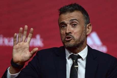 Sem Diego Costa e Alba, Luis Enrique anuncia convocação da Espanha (Foto: Pierre-Philippe Marcou / AFP)