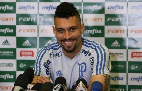 Moisés lembrou da sequência de tabus que o Palmeiras quebrou há dois anos (Cesar Greco/Ag Palmeiras/Divulgação)