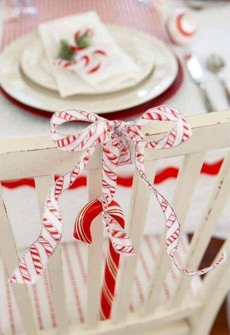 55. Enfeites de natal para decoração de mesa – Foto: Pinterest