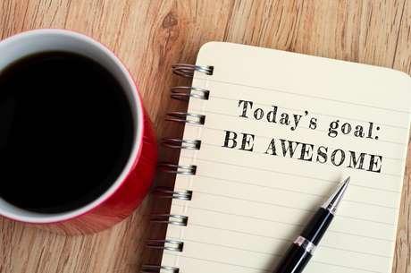 Objetivo de hoje: ser impressionante.
