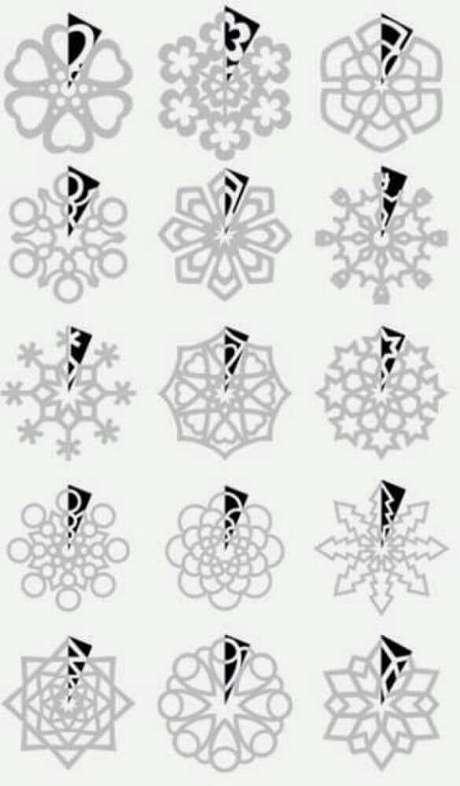 78. Mode de flocos de neve para fazer decoração de natal – Foto: I Love Hobby