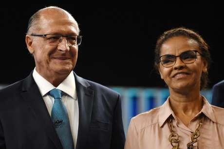 Dois dos candidatos derrotados à Presidência da República, Geraldo Alckmin (PSDB) e Marina Silva (Rede)