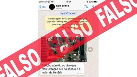 No fim de semana, houve uma guerra de versões sobre as manifestações a favor e contra Bolsonaro