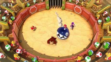 No inédito Online Mario-thon, até quatro jogadores poderão usar o serviço online do Switch para jogarem 'Super Mario Party' remotamente