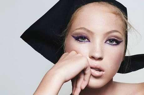 Lila é filha de Kate Moss com o editor Jefferson Hack