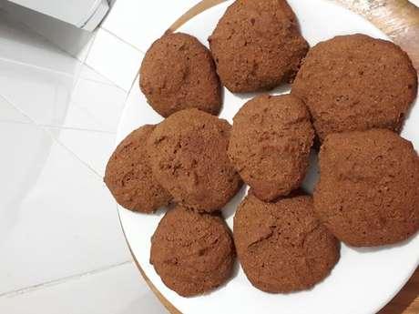 Biscoitos de farinha de coco