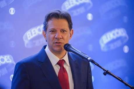 Fernando Haddad após debate entre os presidenciáveis