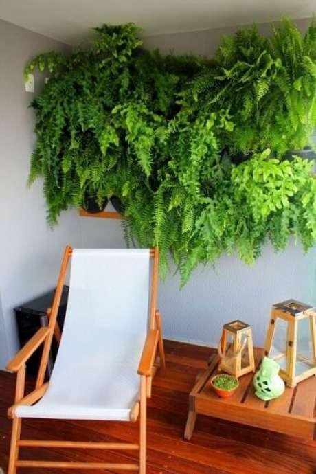 11. Você pode também fazer seu jardim em apenas uma parte da parede. Projeto de Zark Studio