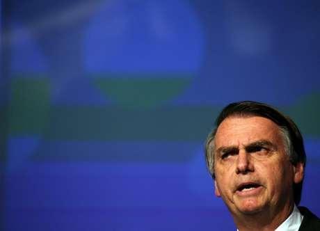 Bolsonaro, durante evento em São Paulo 18/6/2018 REUTERS/Paulo Whitaker