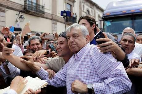 Presidente eleito do México, Andrés Manuel López Obrador