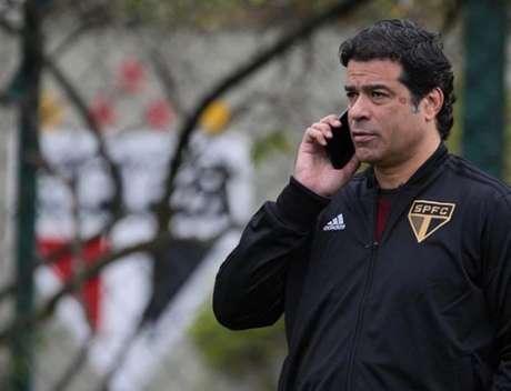Raí falou com a imprensa após a derrota no Morumbi - FOTO: Divulgação/São Paulo FC