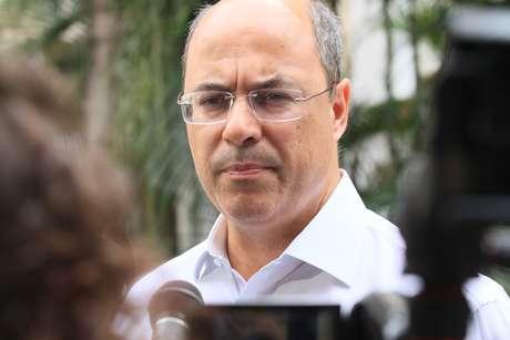 Candidato ao governo do Rio pelo PSC, Wilson Witze