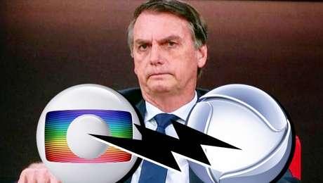 Jair Bolsonaro acirra a antiga guerra entre Globo (família Marinho) e Record (bispo Edir Macedo)