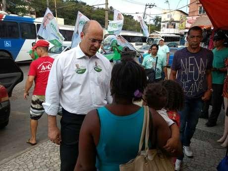 Wilson Witzel, candidato do PSC ao governo do Rio de Janeiro