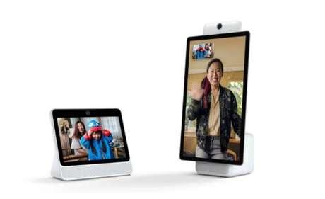 Novo dispositivo de chamadas de vídeo do Facebook possui câmera equipada cominteligência artificial