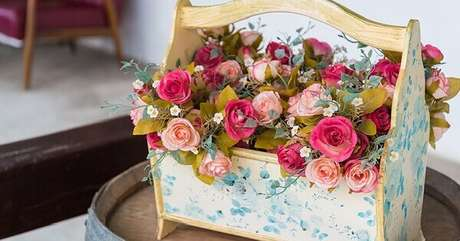 1- A flor begônia é uma planta delicada e muito utilizada em arranjos. Fonte: Westwing
